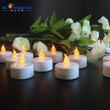 供应LED发光蜡烛 LED塑胶蜡烛 创意求婚蜡烛 七夕礼品蜡烛