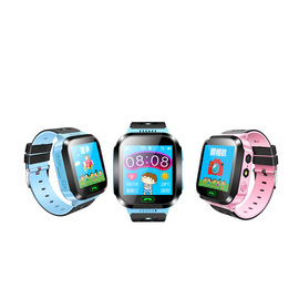 New Q528 children's phone watch GPS positioning anti-lost Y21 smart watch large color screen flashlight
