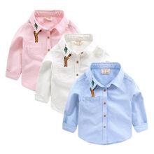 男童长袖衬衫 2017春装韩版春季新款童装衬衣儿童宝宝上衣潮