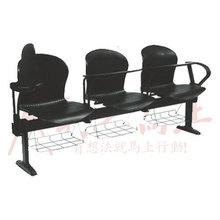 厂家直销2-4人位公共排椅带写字板培训排椅大型会议室开会椅定做