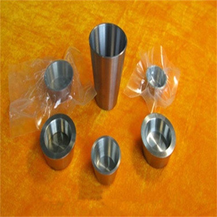 订做带盖配套钨坩埚 耐磨耐高温纯钨坩埚 实验用99.95%钨坩埚