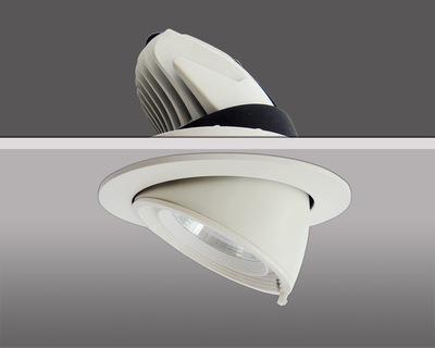 商场服装店铺象鼻灯LED30W天花射灯背景墙展厅COB嵌入式天花灯30W