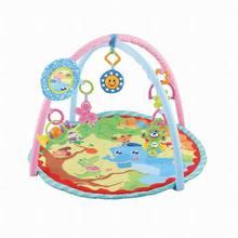 儿童游戏毯爬行垫 玩具布偶游戏毯 新生婴儿 圆形益智早教健身毯