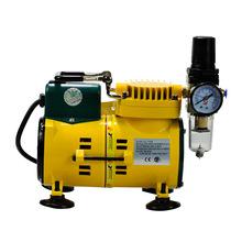 空气压缩机迷你小型微型气泵220V便携式静音美工喷画模型泵
