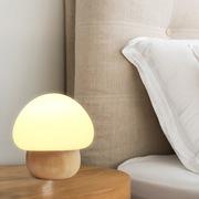 新款创意木制工艺LED护眼台灯小夜灯床头柜台灯外贸出口专供