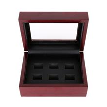 克罗帝 冠军戒指高档包装盒 多孔实木首饰盒饰品包装配件现货批发