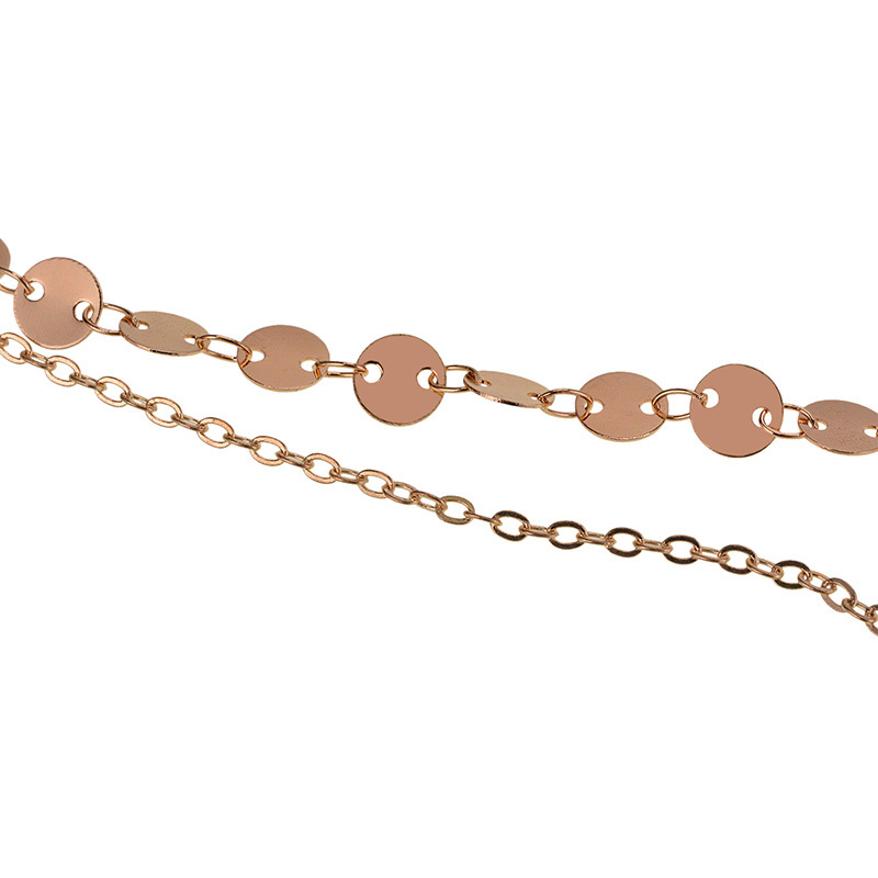 other copper other necklace (Silver)NHYT0323-Silver