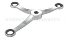 斯莱科1708点式玻璃幕?#25509;?#26842;不锈钢配件驳接爪驳接头转接件三爪