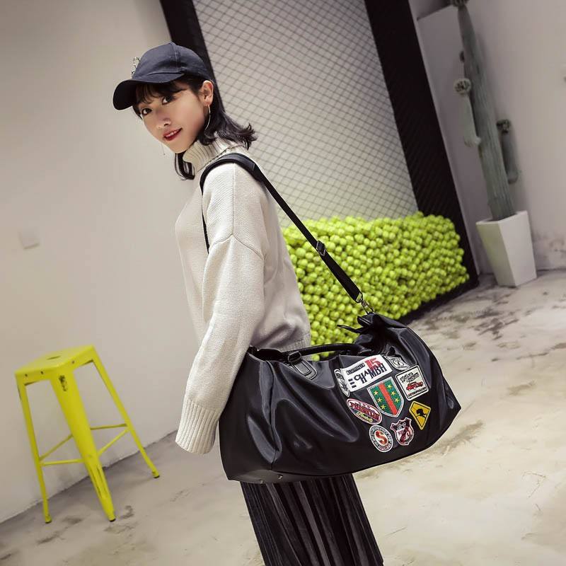 Korea Clothhandbag(Black Queen)NHSK0179-Black Queen