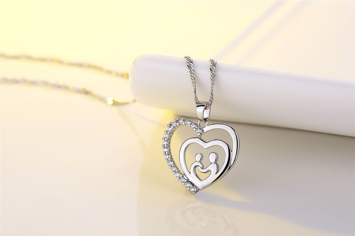 New fashion simple necklace for mom mother's day necklace wholesale NHKN208032