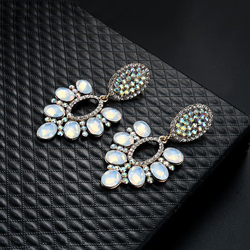 Occident and the United States alloy plating earring (61179397)NHLP0823-61179397