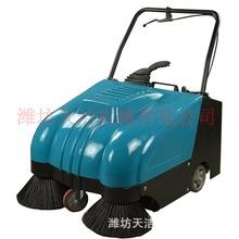 學校專用手推電瓶掃地機 電瓶式清掃機 小型電動掃地車