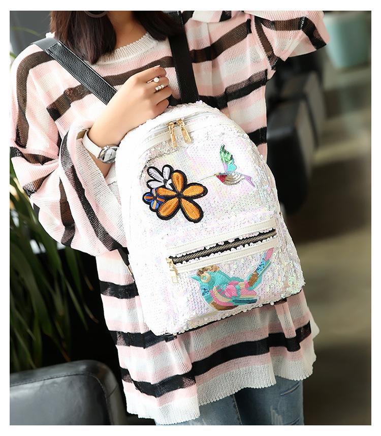 Korean version PUfashion bag (Pink)NHPB0200-Pink