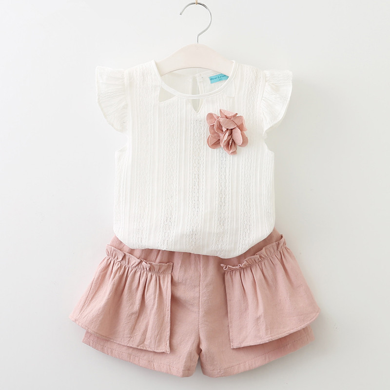 6359b3f94 2019 Baby Unicorn Outfits Summer Baby Girl Clothes Top +Tutu Skirt ...