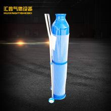 厂家生产 15升医用吸入器气瓶 医用氧气钢瓶 小型家用氧气钢瓶