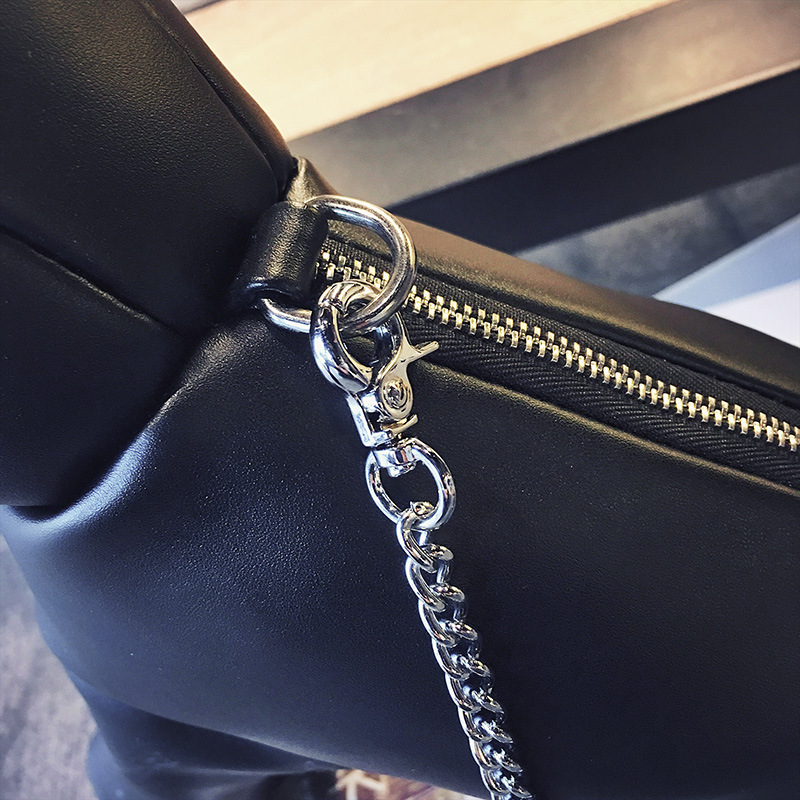 Cute cartoon dog shoulder bag solid color messenger chain women bag fashion animal bag NHGA200692