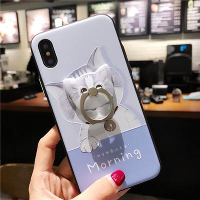 Vỏ điện thoại di động Iphonex Vỏ đựng điện thoại di động Apple 8plus Silicone TPU Emboss 7 环 保护 保护