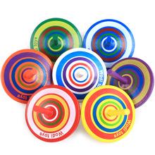 厂家批发沃迪木质陀螺减压益智玩具3-7岁活动促销小礼品跨境爆款