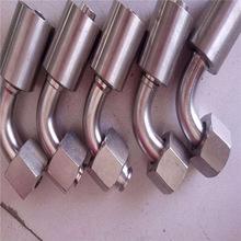 不銹鋼液壓膠管接頭 扣壓式液壓膠管接頭 各種規格高壓膠管接頭