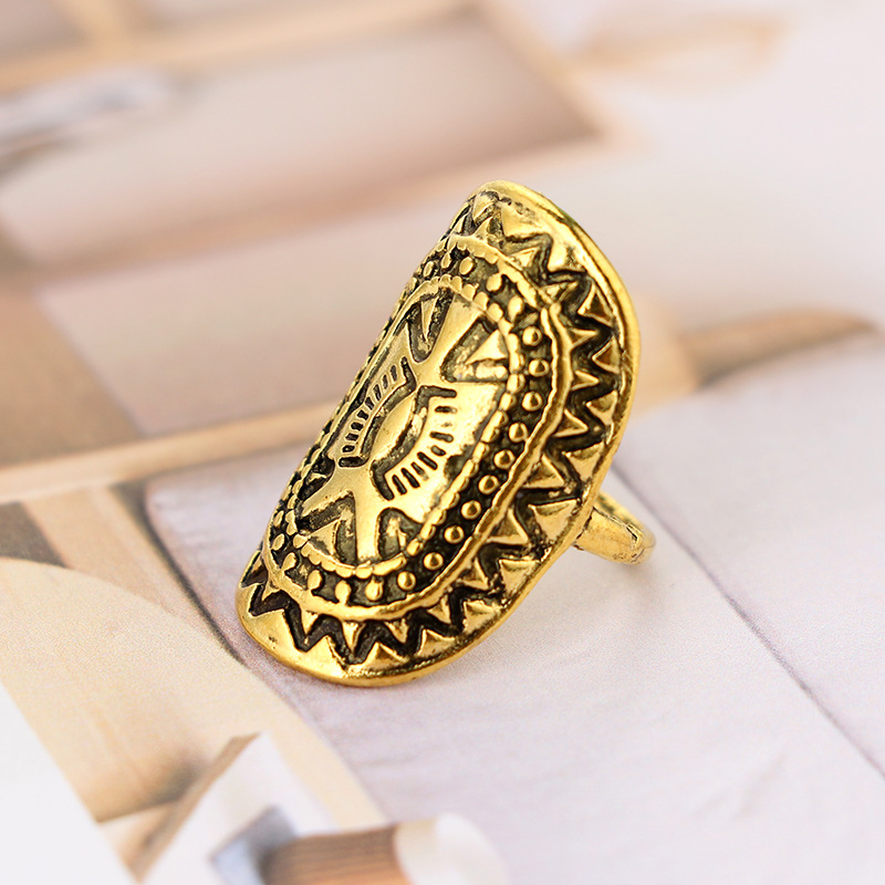 folk-custom alloy plating Jewelry Sets (Ancient gold)NHGY0660-Ancient gold