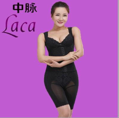 塑峰laca塑身美体内衣 文胸+腰背夹+塑裤 分体套装《美容院专