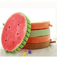 厂家直销创意3D仿真可拆洗水果坐垫毛绒玩具 沙发靠垫商品批发