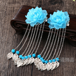 chinese hanfu hair accessory for girls classic hairpin, ancient hairpin, ancient walking tassel, ancient headdress, female Chinese Hanfu costume, hair ornament cos jewelry