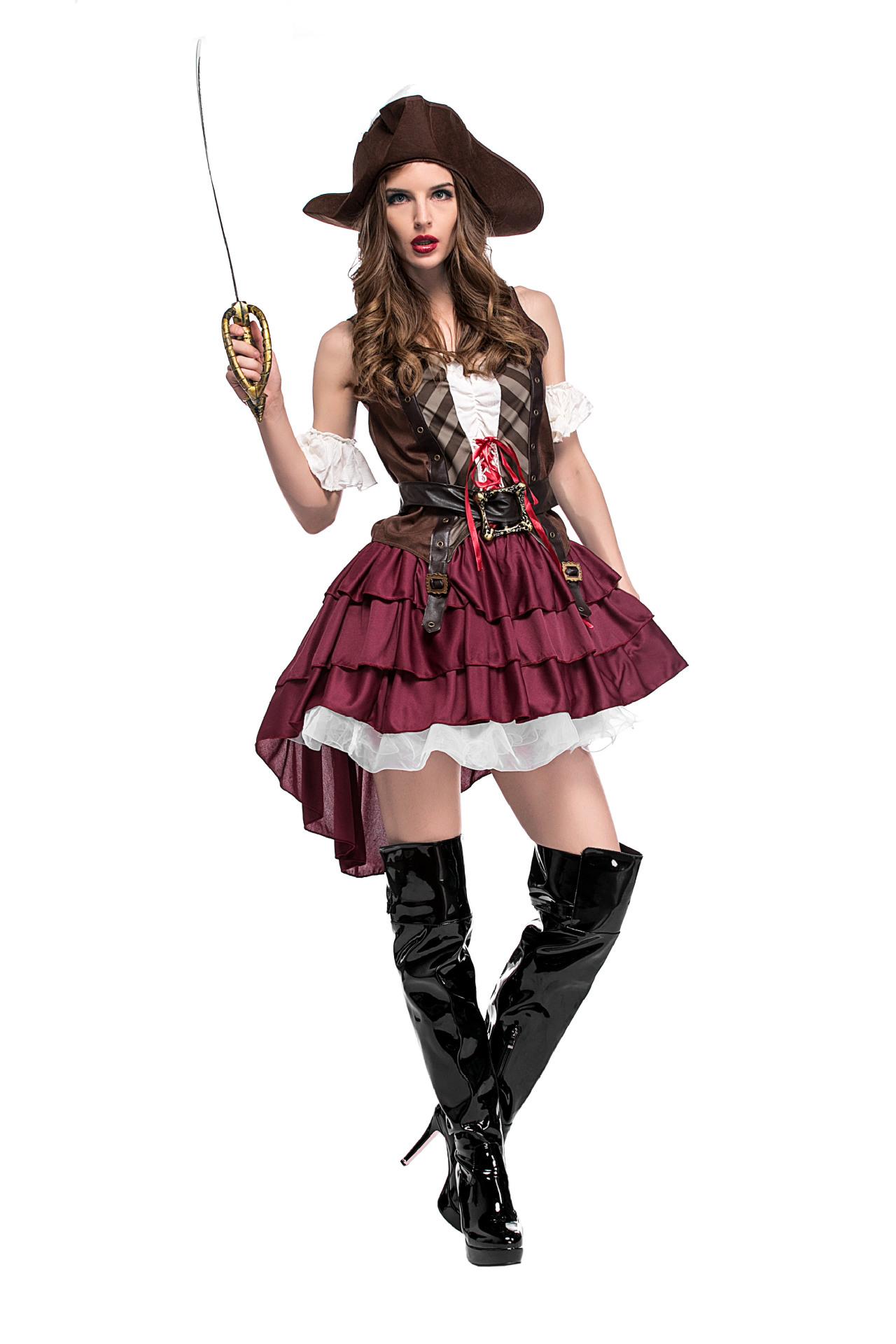 Halloween cosplay Somali pirate costume NHFE155295