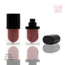 厂家直销彩妆椭圆形唇彩管定制塑料唇彩管包材铝制化妆品包装