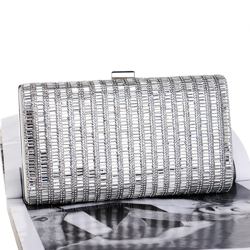 New diamond evening bag dress evening dress bag banquet bag women clutch bag NHYM180885
