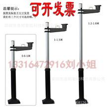 監控停車場可伸縮立桿 停車場道閘卡口攝像頭立柱支架0.6M到2.5米