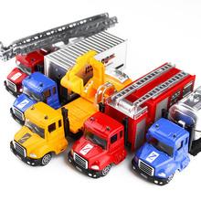 仿真玩具車工程車兒童玩具小汽車合金車模型套裝