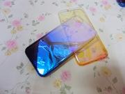 iPhone8 蓝光渐变超薄手机保护套 苹果8G 4.7寸全包PC手机外壳