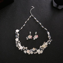 New Products Wedding Bridal Headdress Necklace Wedding Accessories Bridal Studs New Sets Chain Direct