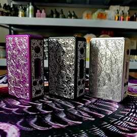 正品热火 R150雕刻版 鲍鱼贝 贝母150w温控电子烟专用调压盒子