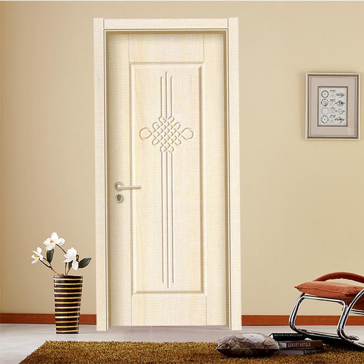 厂家直销环保室内木门批发 生态门价格 暖白浮雕系列卧室生态门