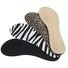 高跟鞋 海棉鞋垫七分垫 女防滑 调码 减震 排汗 舒适柔软布面