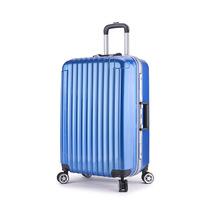 复古abs+pc铝框旅行箱女 20寸24寸28寸商务拉杆箱 贴牌定制生产