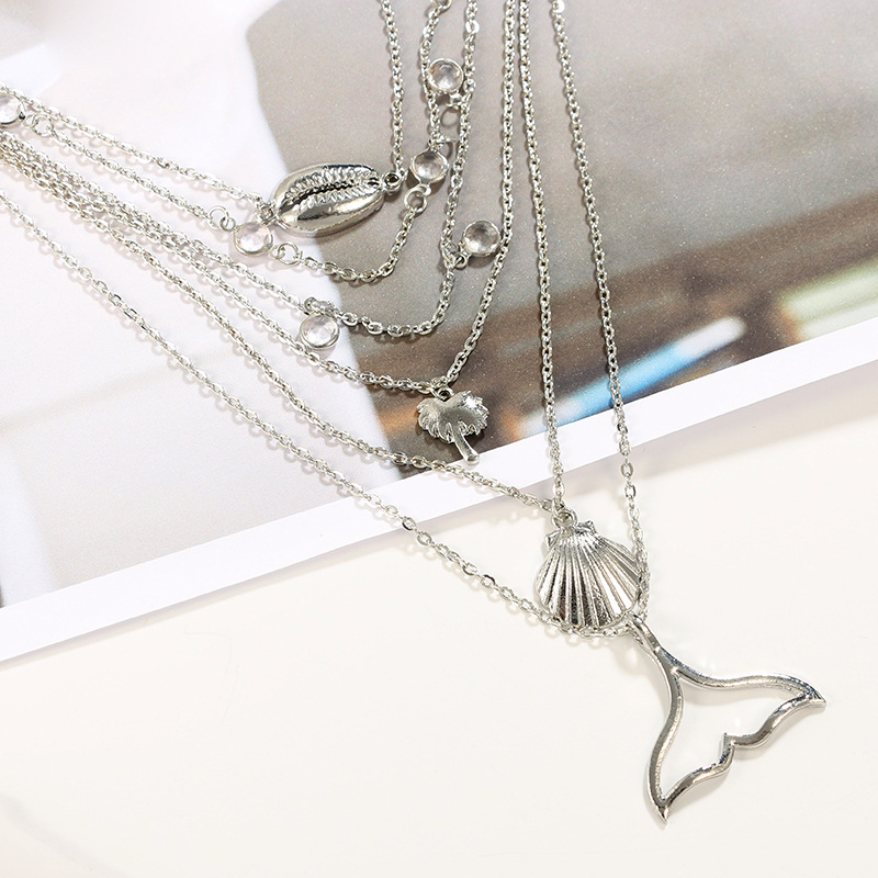 Fashion Alloy  necklace Animal (Alloy)  NHGY0823-Alloy