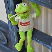 現貨supreme青蛙公仔芝麻街科密特青蛙Kermit 科米蛙生日禮物