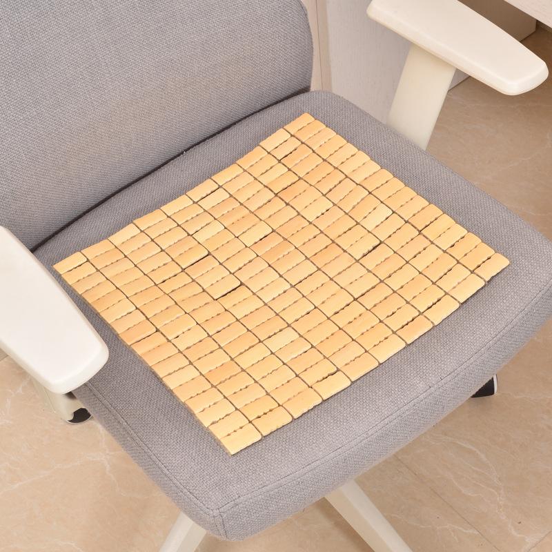 厂家直供竹坐垫 汽车座垫 沙发垫 麻将垫 麻将椅子垫凉垫办公室