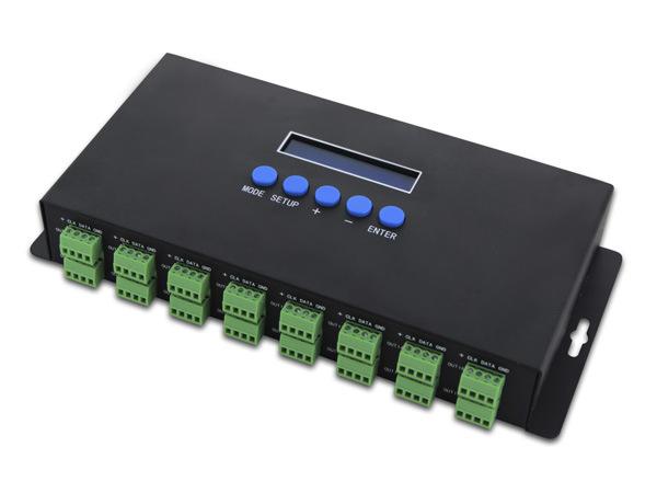 BC-216 ARTNET-SPI控制器 Ethernet转SPI/DMX像素灯控制器