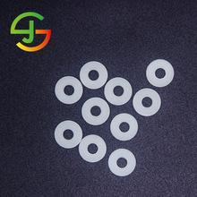 电子绝缘片垫圈  乳白色pom垫片 聚甲醛赛钢片 塑胶华司电机垫片