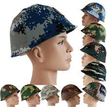 GK80钢盔数码迷彩头盔套罩定制cs伪装盔布套六块布西瓜皮军迷盔套