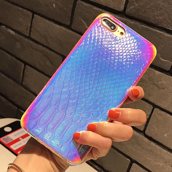 Apple X/iphone8 plus color crocodile shell XS max 7plus new fashion leather shell