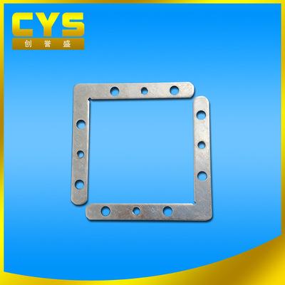来图定制多孔直角平角码 面板灯边框五金角码 紧固件 固定角码