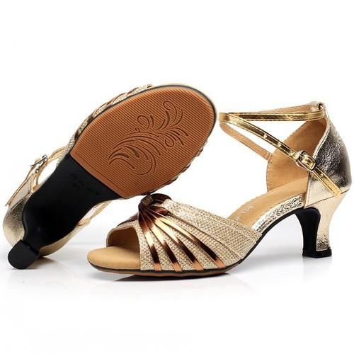Latin dance shoes women adult high heel dance shoes dance shoes friendship square dance shoes soft sole sandals women