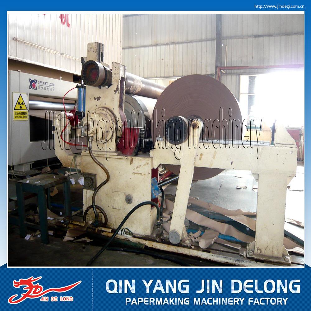 热销瓦楞纸机,金德龙造纸机2400抄造瓦楞纸造纸机械