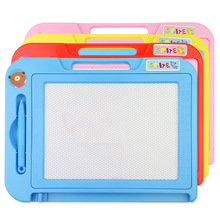 Children's color drawing board Magnetic writing board baby children's graffiti toy baby early education hand painting painting
