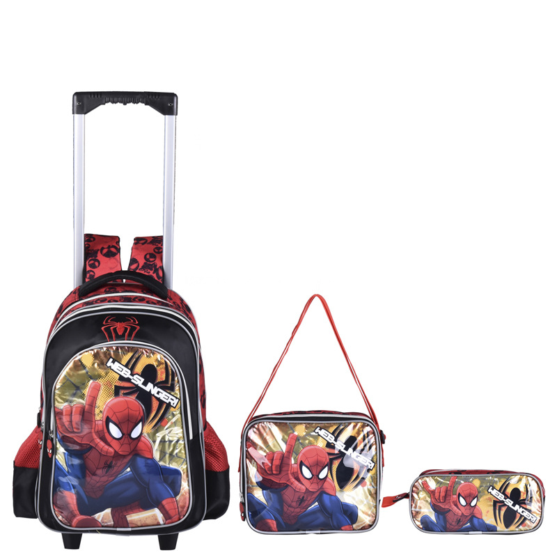 kids trolley bags for school children school backpack with w